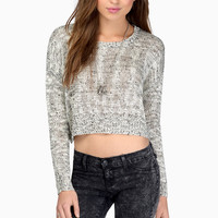 Marley Crop Knit Sweater