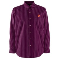 Clemson Tigers Long Sleeve Button Front Shirt