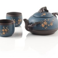 Blue Cherry Blossom Yixing Teapot at Teavana | Teavana