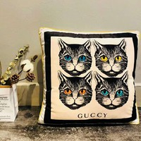 GUCCI New Stylish Cat Rabbit Guccy animal pillow C-A-HRWM Cat
