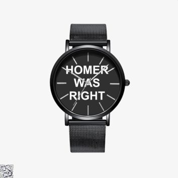 Homer Was Right, The Simpsons Watch