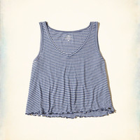 Girls Must-Have Crop Swing Tank | Girls Tops | HollisterCo.com