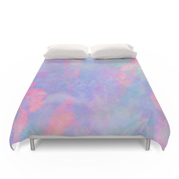 Society6 Summer Sky Duvet Cover