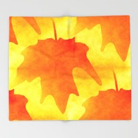 Autumn Glory Throw Blanket by Kathleen Sartoris
