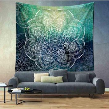 Bohemian Mandala Tapestry Home Wall Hanging Blanket Throw Rug Outdoor Travel Camping Tent Mattress Sleeping Pad Free Shipping