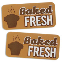 Baked Fresh Bakery Labels
