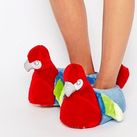 New Look Parrot Slippers