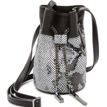 Halston Heritage Mini Bucket Bag