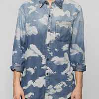 INSTED WE SMILE Cloud Denim Button-Down Shirt - Urban Outfitters