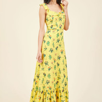Inclined to Impress Maxi Dress