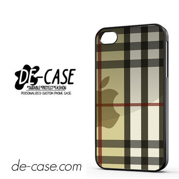 Burberry Inspired DEAL-2191 Apple Phonecase Cover For Iphone 4 / Iphone 4S