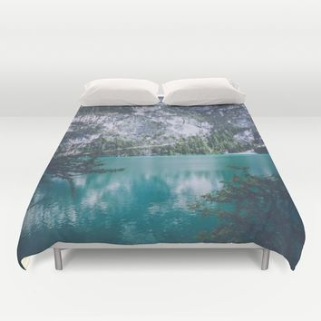 Peer Through Duvet Cover by Gallery One
