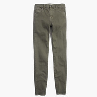 "9"" High Riser Skinny Skinny Jeans: Garment-Dyed Edition"