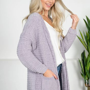 Selena Moonlight Chenille Cardigan