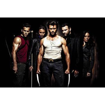 Wolverine poster Metal Sign Wall Art 8in x 12in