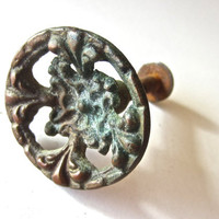 Old bronze knob by AnelaAndElDiablo on Etsy