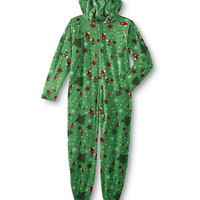 Jennalee The Christmas Tree Footed Womens Onesuit Pajama
