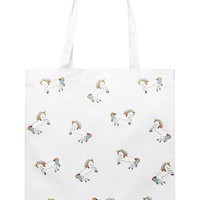 Unicorn Canvas Eco Tote