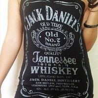 Jack Daniel's Tennessee Whiskey Black Singlet Vest M from Grow2013