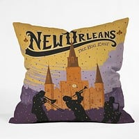 Anderson Design Group New Orleans 1 Throw Pillow