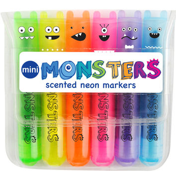 International Arrivals Mini Monsters Scented Markers