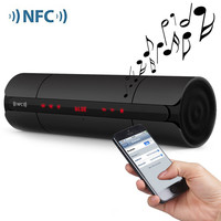 Portable KR8800 Wireless Bluetooth Speaker with LCD Screen /FM Radio NFC Function/Touch Buttons for Music Audio Player