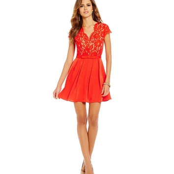 Gianni Bini Carina Lace Dress | Dillards