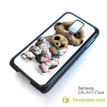 BABY OLEGMEERKAT CUTE Samsung Galaxy S2 S3 S4 S5, Mini, Note, Tab Case Cover