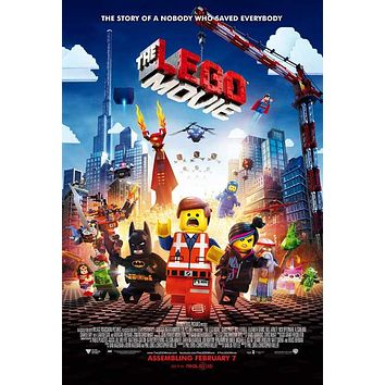 The LEGO Movie 27x40 Movie Poster (2014)