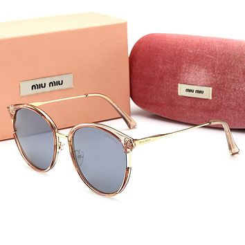 MIU MIU Popular Women Stylish Shades Eyeglasses Glasses Sunglasses