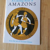 Coloring Book of the Amazons By Bellerophon Books