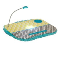Turquoise and Yellow Lap Desk with Light