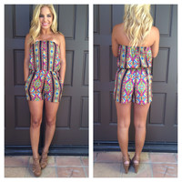 Cathedral Lights Romper