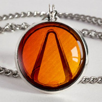 Handmade Borderlands Vault Symbol Pendant Necklace