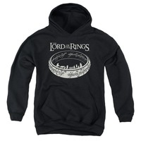 Lord Of The Rings - The Journey Youth Pull Over Hoodie
