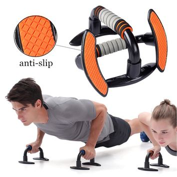 Body Building Push Up Stand Bar Skid-Resistant Exercise Power Fitness Chest Abdominal Muscle Training Home Gym Workout Equipment