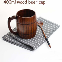 Beer Wood Personalized Wooden Coffee Mug