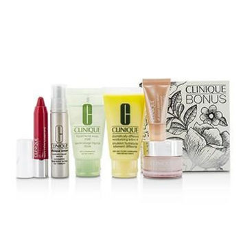 Travel Set: Facial Soap 30ml + DDML+ 30ml + Moisture Surge Intense 15ml + Smart Serum 10ml +Eye Serum 5ml + Chubby Stick