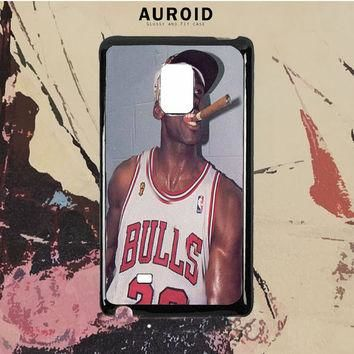 Michael Jordan Cigar Samsung Galaxy Note 5 Case Auroid