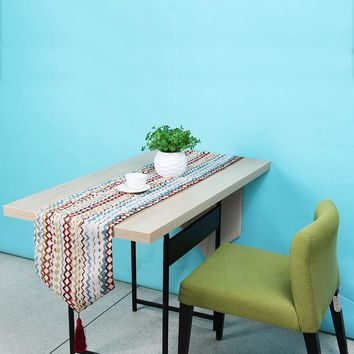 American Style Table Cloth Runner Fashion Desk Flag Bed Table Cloth Cover PTCT