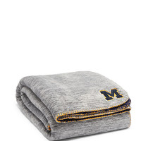 University Of Michigan Soft Sherpa Blanket - PINK - Victoria's Secret