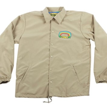 GOLF RAINBOW COACH JACKET CREAM