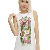Sailor Moon Sailor Jupiter Stained Glass Girls Muscle Top