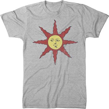 Dark Souls Warrior of Sunlight Mens Modern Fit Tri-blend T-shirt