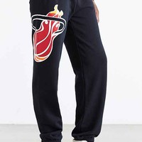 Mitchell & Ness Miami Heat Sweatpant- Black