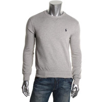 Polo Ralph Lauren Mens Fleece Signature Sweatshirt, Crew