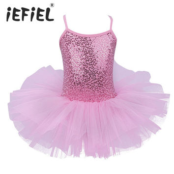 2017 Newest Christmas Gift Party Fancy Costume Cosplay Girls Ballet Tutu DressTutu Ballet Dance Leotard Dress