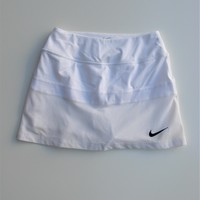 Nike Team Court Skirt in White Style 642099 XS