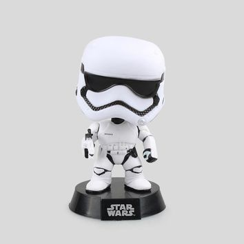 Star Wars Force Episode 1 2 3 4 5  Stormtrooper Bobble Head VINYL Figure Collection Toy Doll 12cm with Retail Box AT_72_6