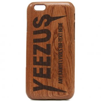 Yeezus Wooden iPhone Case – Kanye West iPhone Case, iPhone cover, Yeezus Tour iPhone case